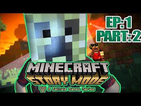 Minecraft Story Mode Walkthrough Episode 1 Part In Minecraft: Story Mode,  Playing As Either A Male Or Femal
