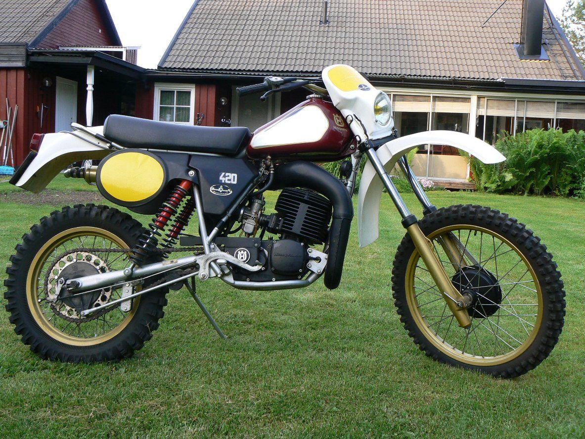 Pin By Eric Schmaus On Vintage Husqvarna Vintage Motocross Enduro Motorcycle Bike Rider