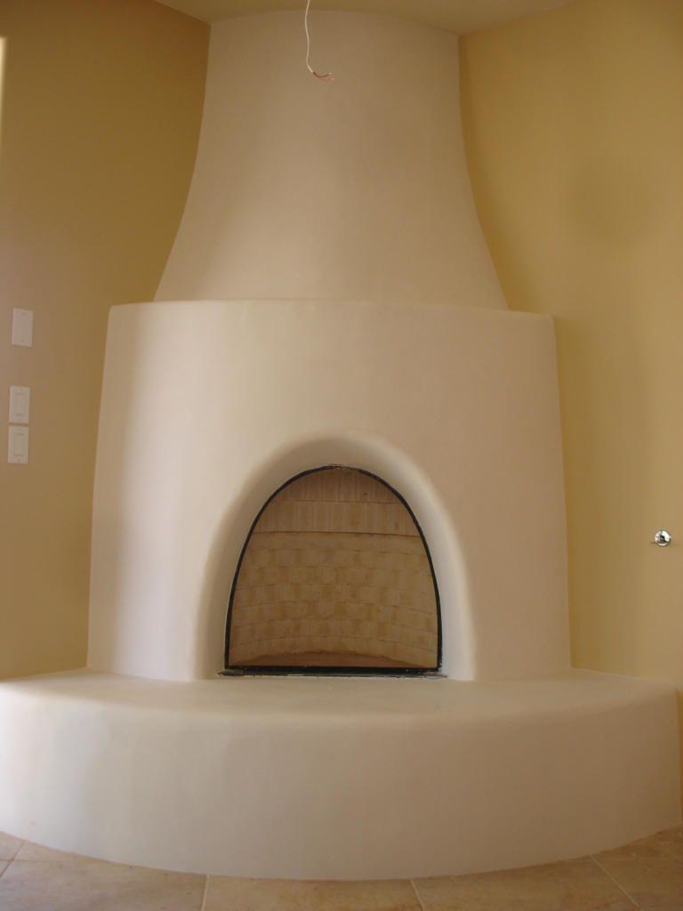 Santa Fe Adobe Fireplace Fireplace Kits Fireplace Gallery
