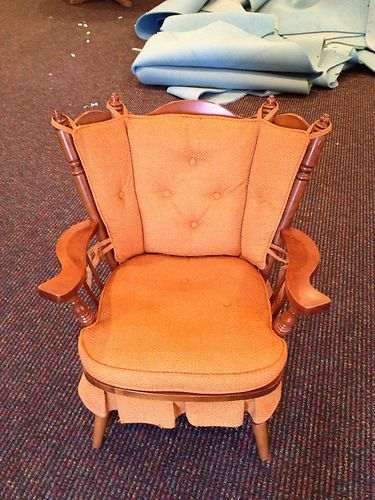 tell city solid hard rock maple andover rocking chair local pick