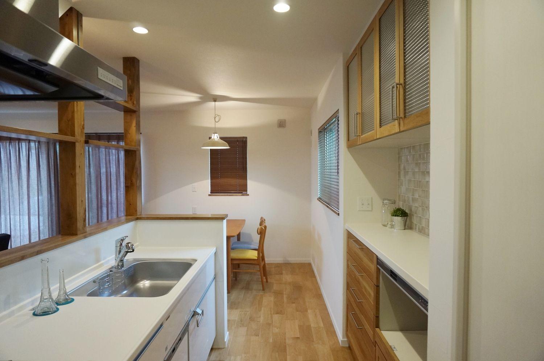 昭和レトロなインテリア 島根県で注文住宅を建てるタケシバ建設の写真