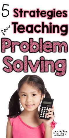 FIVE awesome (and FREE) ideas to help teach problem solving in math!