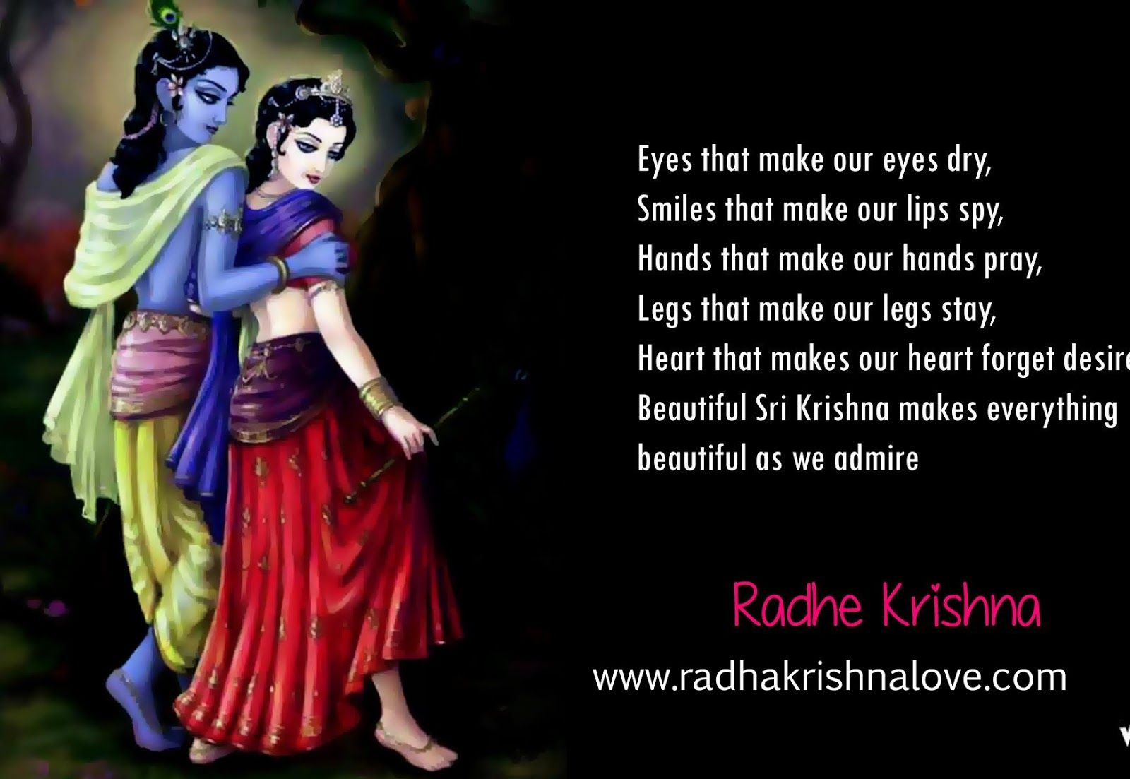 Lord Krishna Quotes Radha Krishna Quotes On Love In English  Radhe  Pinterest  Radha