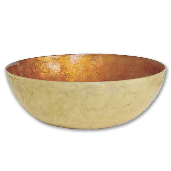 Large Bronze Capiz Bowl By Zen Zen 26 Hand Crafted Capiz Shell Salad Bowl With Bronze Finish 11 5 Dx4 H Www Sevencolon With Images Bowl Capiz Shell Decorative Bowls