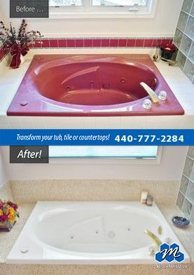 Donu0027t Replace   Refinish! : Bathtub Refinishing In Cleveland, OH Is A Quick  And Effective Way To Use Tub Reglazing Rather Than Replacing To Save You2026