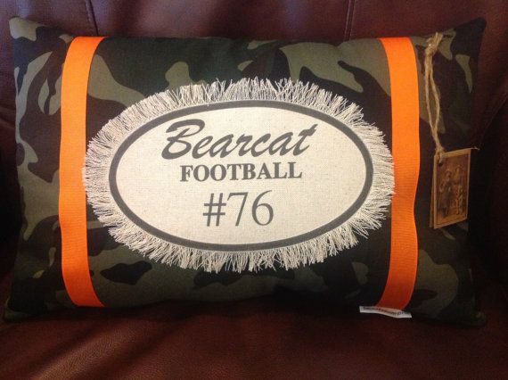 Aledo Bearcats Personalized (Texas) Decorative Pil