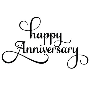 Happy Anniversary Wedding Memorial Day Love Png And Vector With Transparent Background For Free Download Happy Anniversary Birthday Labels Anniversary