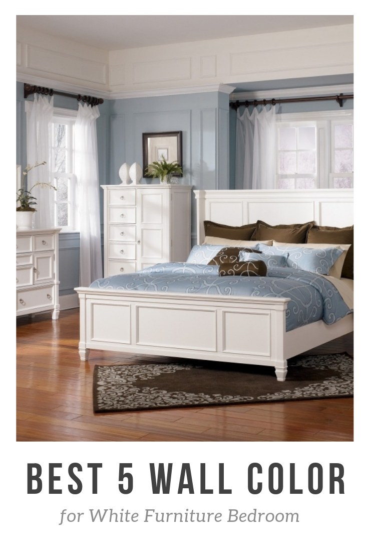 Best 5 Wall Color for White Furniture Bedroom | Best wall ...