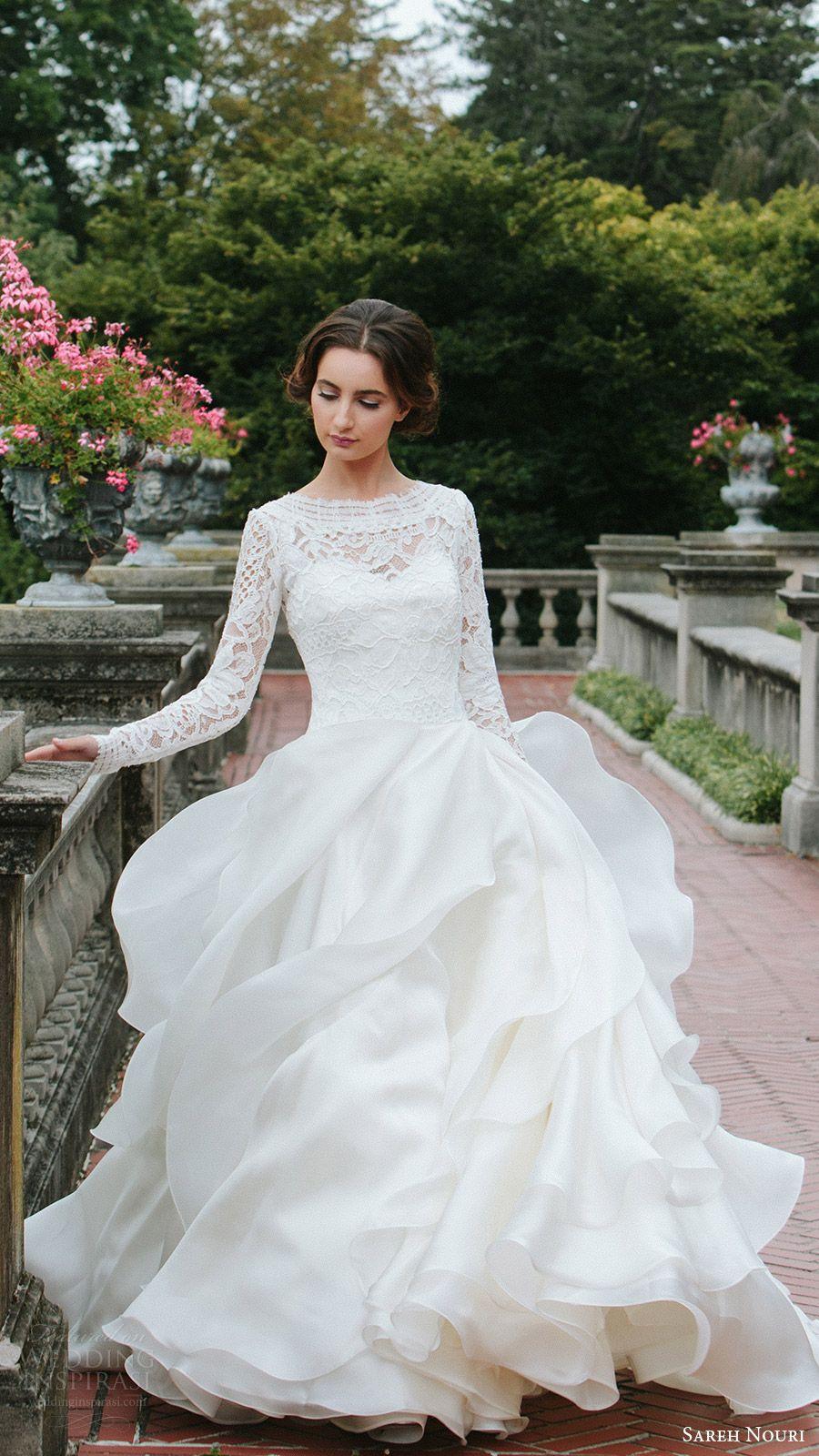 Sareh nouri fall wedding dresses u lookbook mona lisa ball