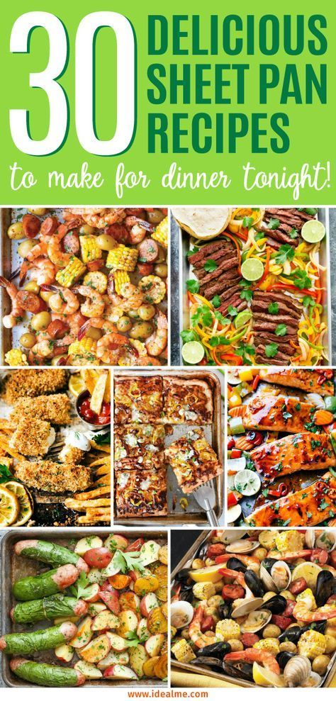 Photo of 30 Delicious Sheet Pan Recipes to Make for Dinner Tonight-30…