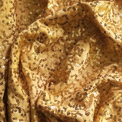 Gaga Swirl Sequin Gold Gold Sequin Fabric Sequins Gold Sequins