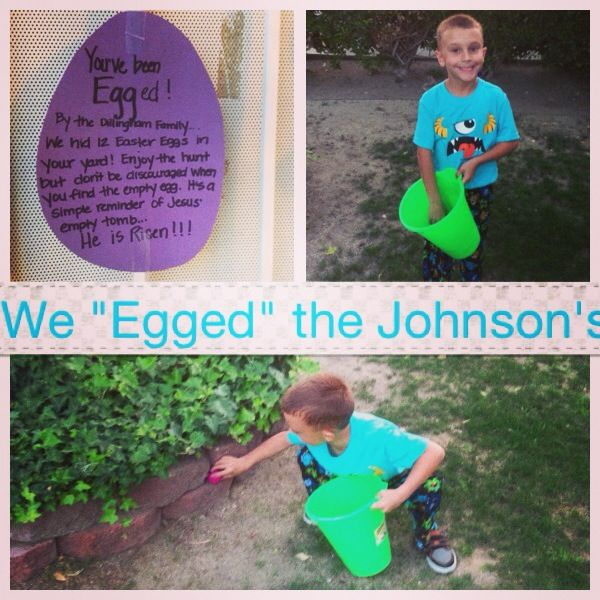 "You've been ""Egged""!!!"