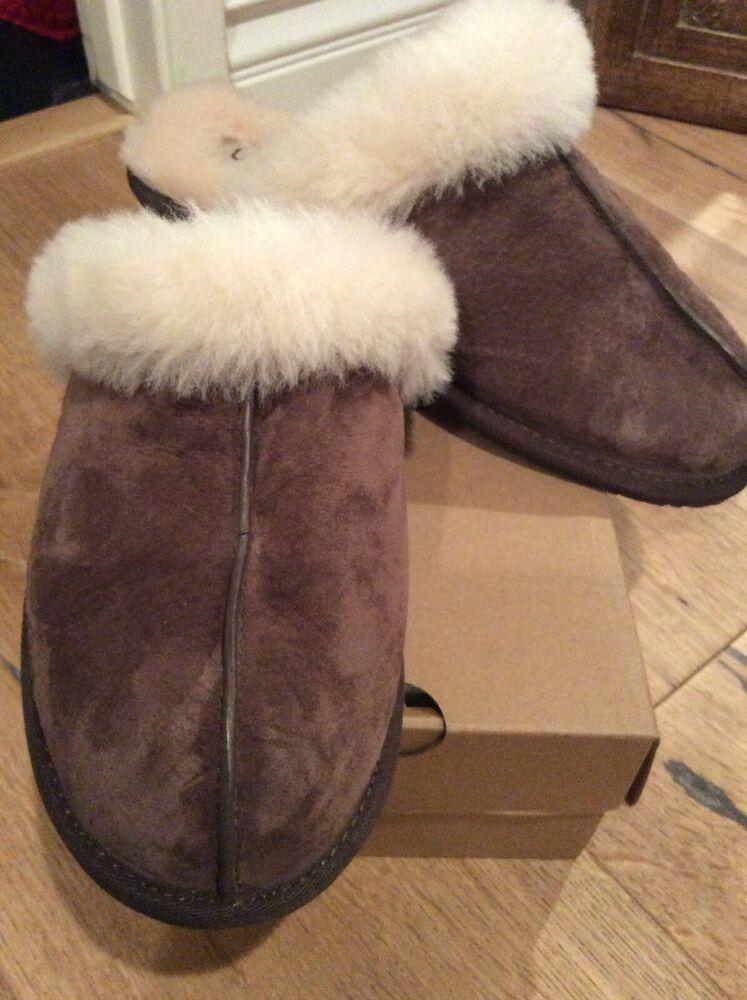 54c2d527226 eBay Advertisement) NEW UGG Women's Slippers Scuffette Brown Size 10 ...