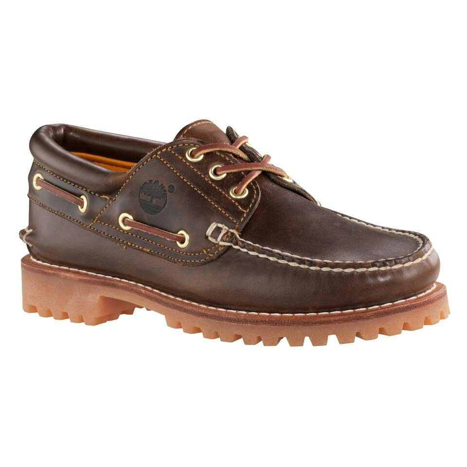 Timberland 3 Eye Classic Lug Shoes Pull Up