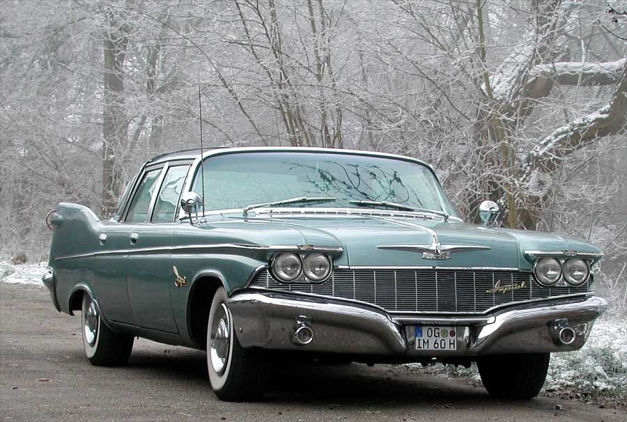 Stunning 1960 Imperial In Beautiful Moonstone Blue Paint Located