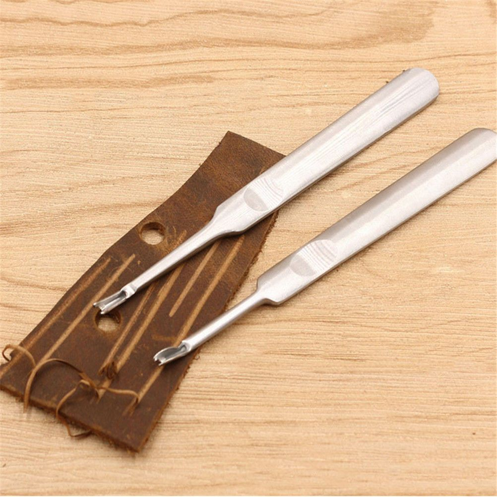 Health & Beauty V Shaped Stitching Groover Skiving Edge Beveler Leathercraft Leather Tool High Quality