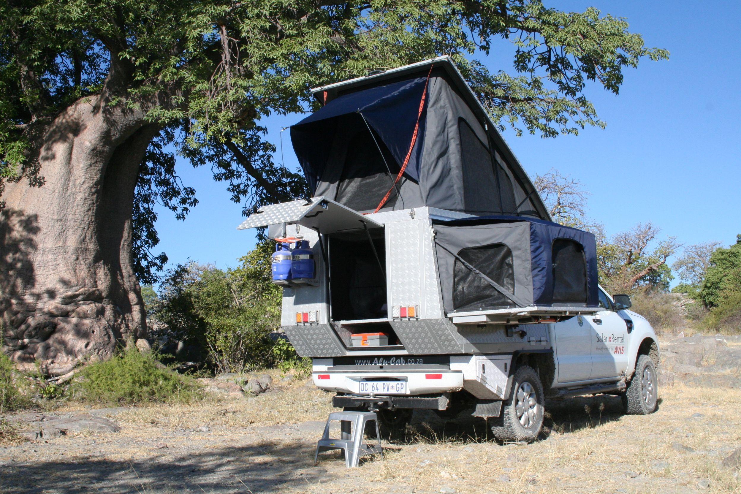 Camper Van Alu Cab Botswana Ford Ranger Ford Ranger Double