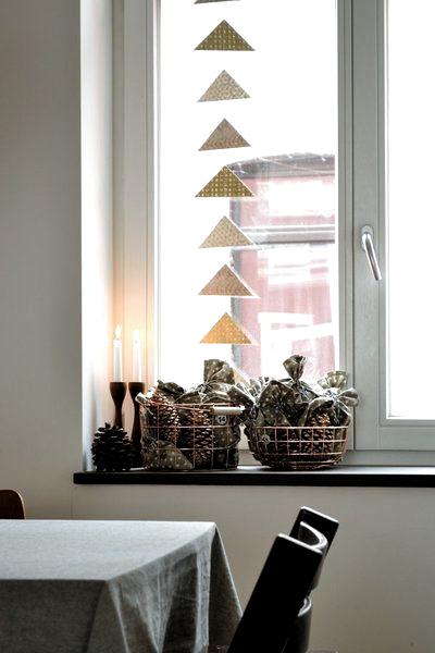12 minimalistische DIY-Ideen für Winterdeko – auch für Kinder!   SoLebIch.de  Foto: Wunderkammer  #einrichtung #einrichten #einrichtungsideen #ideen #dekoration #weihnachten #diy #selbstgemacht #weihnachtszeit #christmas #christmasdecoration #solebich #girlande