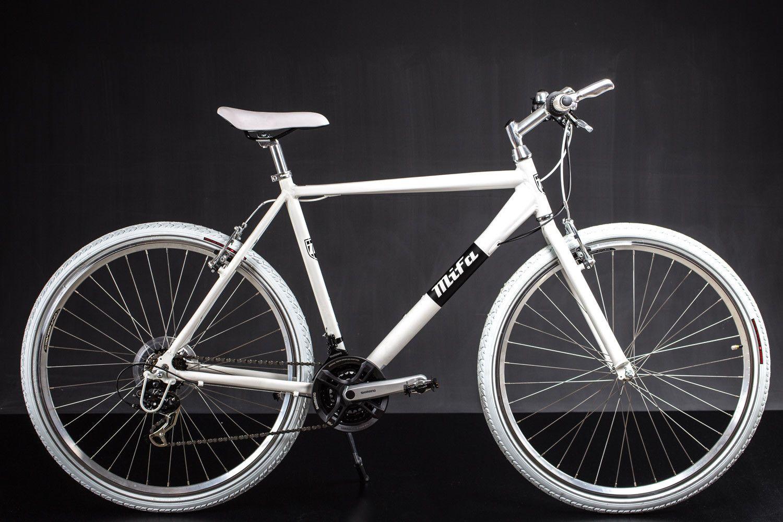 28 Zoll Crossbike Alu Mifa Herren Fahrrad Mtb Shimano 21 Gang