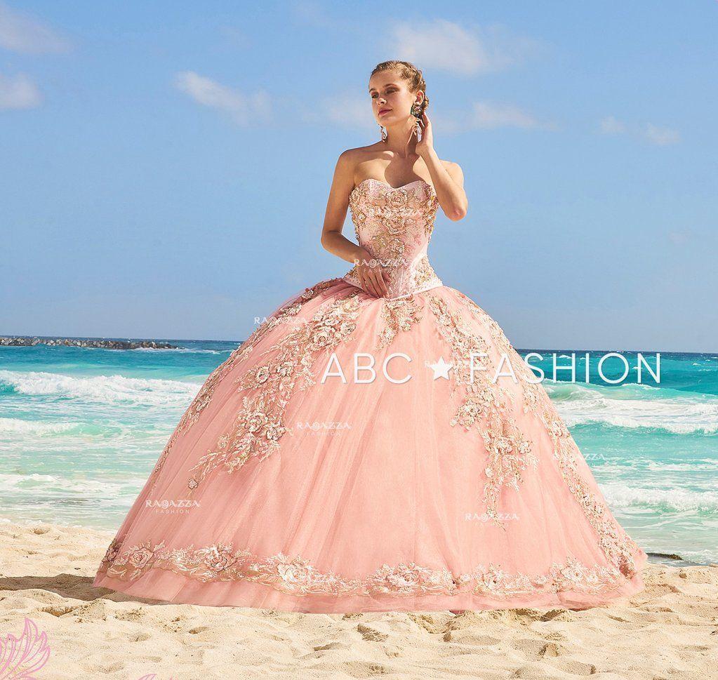 619111353c5 Floral Applique 2-Piece Quinceanera Dress by Ragazza Fashion D09-509-Ragazza  Fashion-ABC Fashion