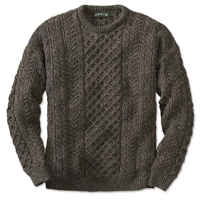 Just found this Cable Knit Crew Neck Sweater - Black Sheep Irish ...