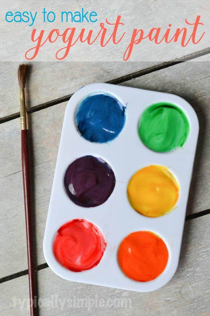 Painting with Yogurt