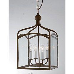 Antique Copper 4-light Chandelier $139.99