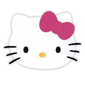 Cara de hello kitty para imprimir  la gatita de sanrio llega a
