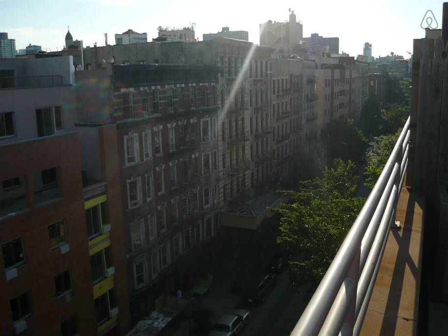 Check out this awesome listing on Airbnb: East Vill Penthouse w Private Deck! in New York