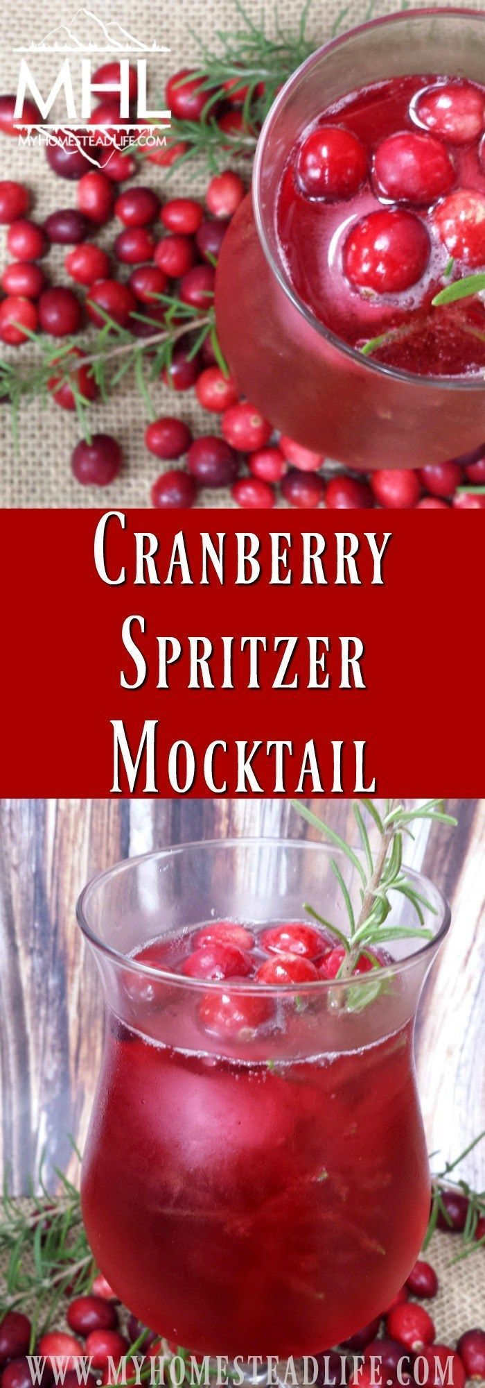 Cranberry Spritzer Mocktail Recipe Perfect For All Of Your Guest Mocktail Recipe Mocktails Cranberry Cocktail Recipe