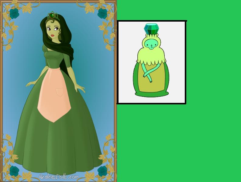 (Bonus) Emerald Princess by SilkmousetheNeko on DeviantArt