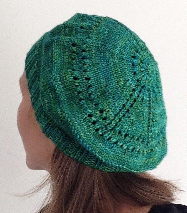 Free Knitting Pattern For Peace Beret Knit Hats Pinterest