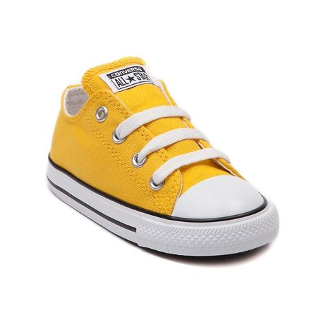 Shop for Toddler Converse All Star Lo Sneaker in Lemon Yellow at Journeys  Kidz. Shop