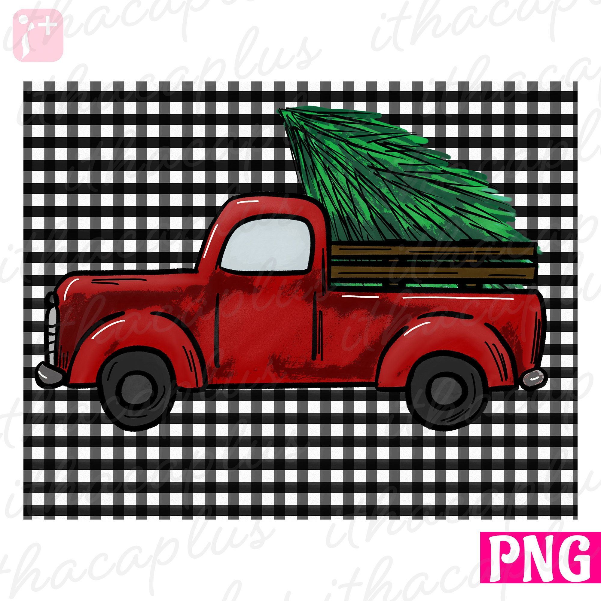 Christmas Red Truck Png Files Sublimation Christmas Truck Etsy Christmas Red Truck Christmas Truck Red Truck