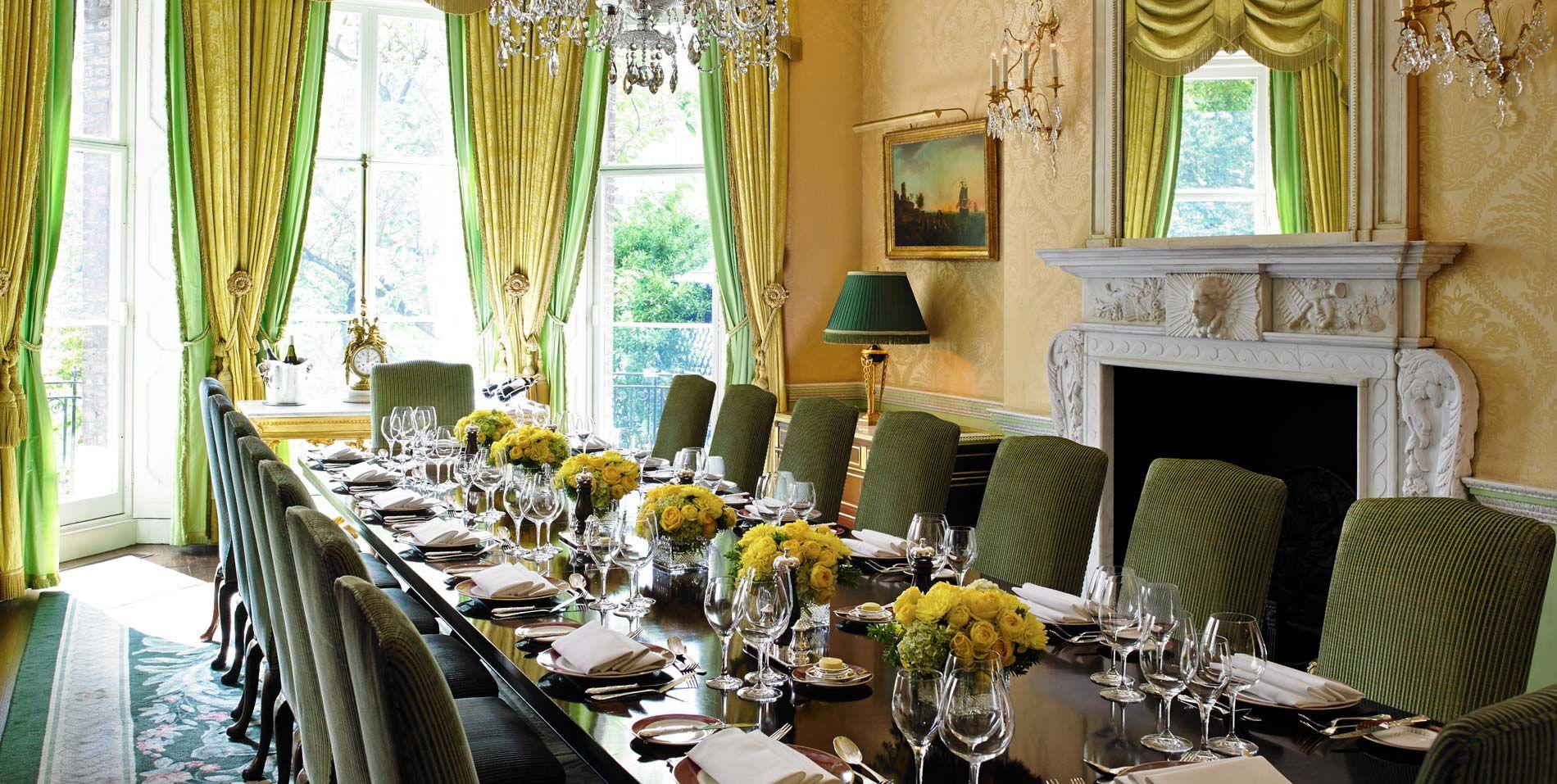 Michael Dobbs House of Cards Ritz The Wimborne Room