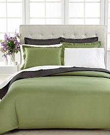 Closeout Charter Club Bedding Damask Solid 500 Thread Count Pima