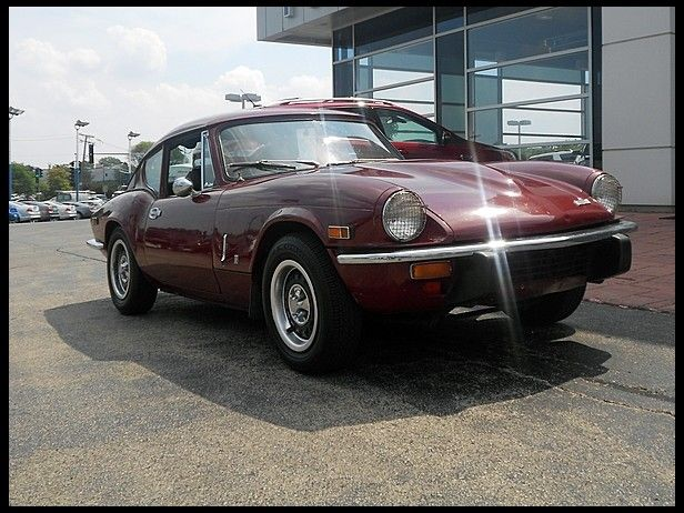 1973 Triumph Gt6 Mkiii Fastback For Sale By Mecum Auction English
