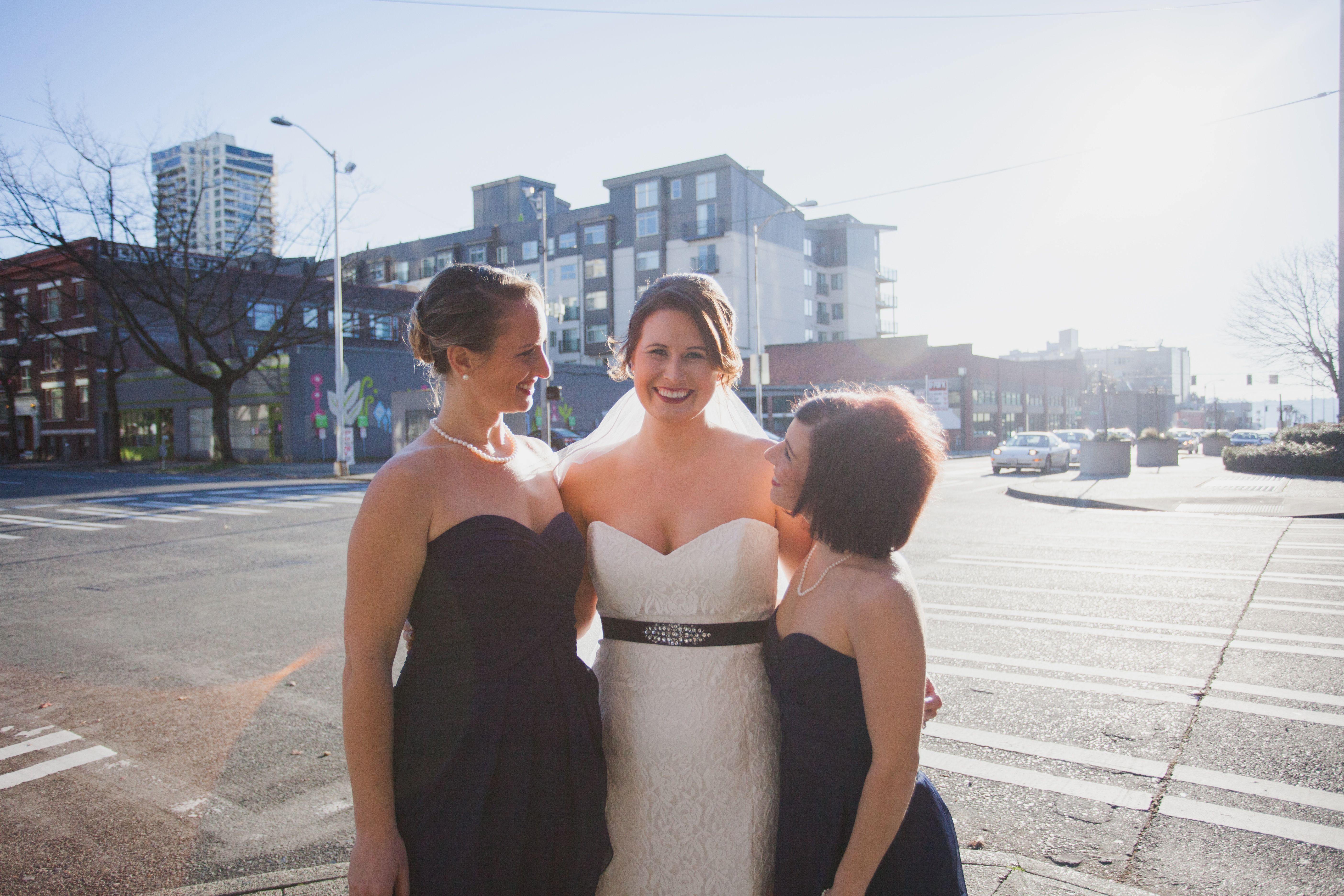 Nicole's girls. #urbanlightstudios #urbanlightsstudiosphotography #greenwood #seattleweddings
