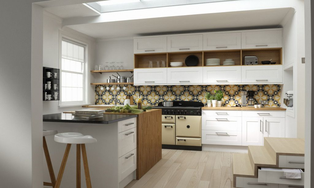 Modern Country by Linda Barker at Wren Kitchens   Interiores