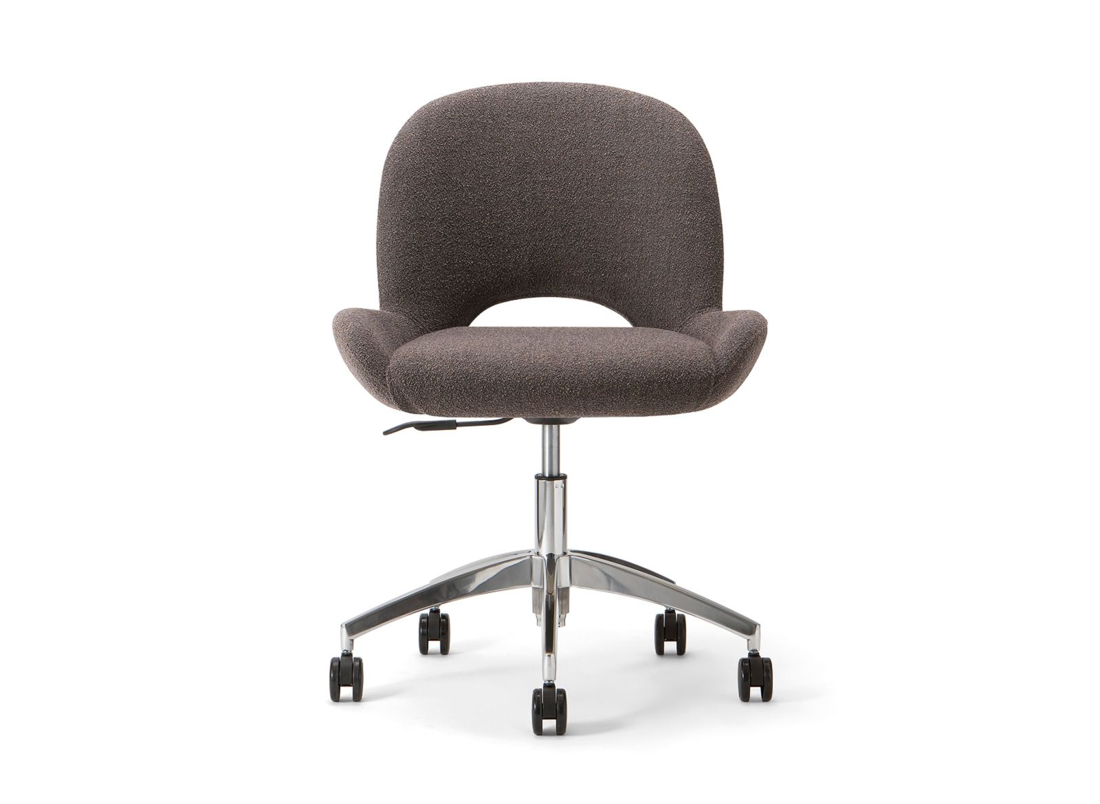 Aluminium frame Shell upholstered with fabric KVADRAT or