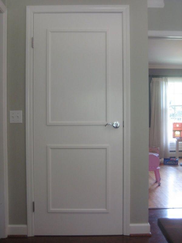 Add Molding/thin trim strips to Flat Panel Doors | Home Dec - Doors