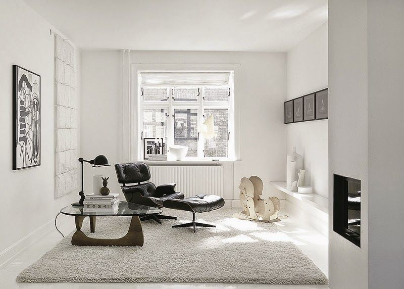 Lovely A Striking Black And White Danish Home Photo