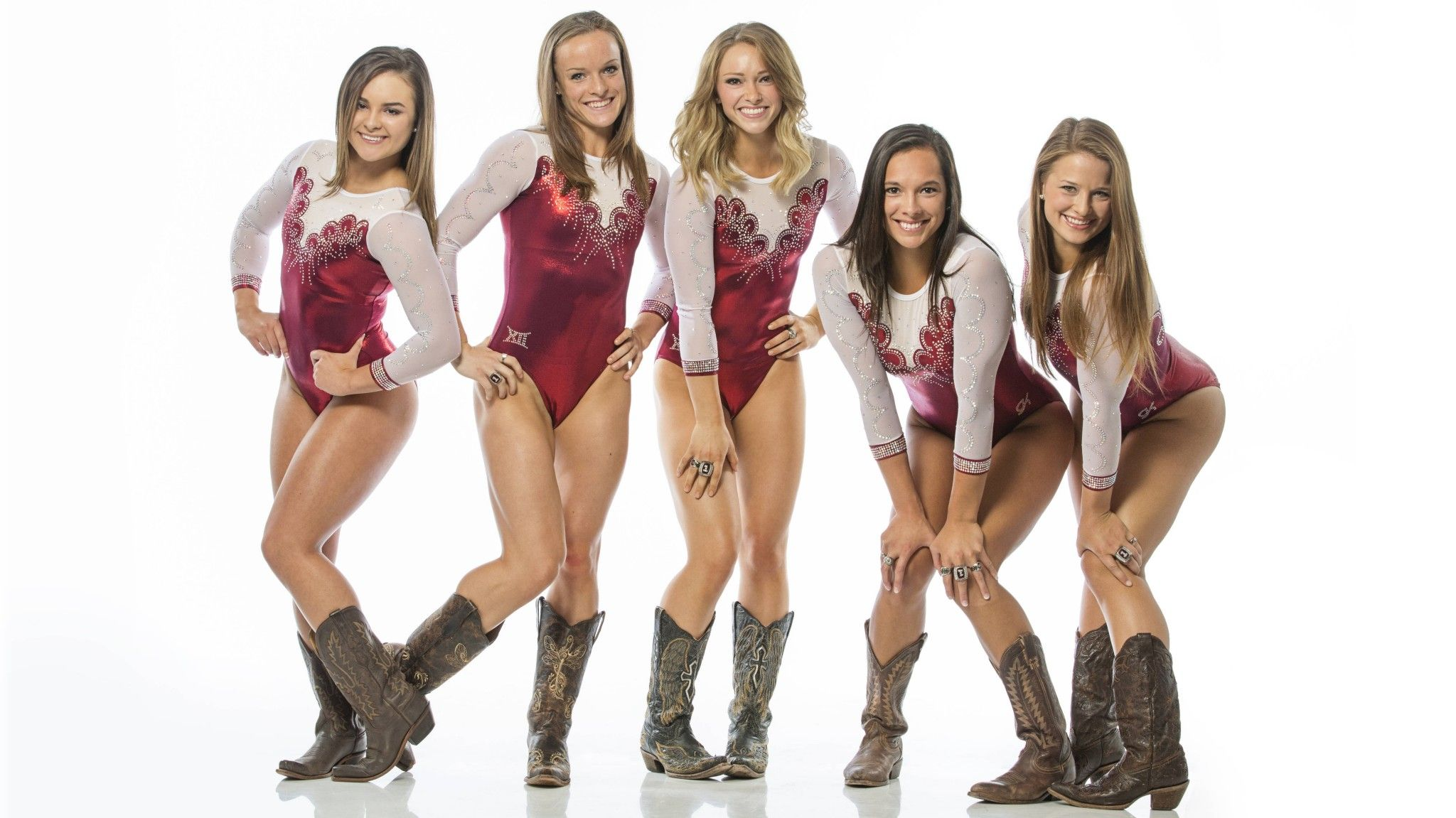 d4227144925 Oklahoma Sooners' NCAA women's gymnastics team 2016 | USA Gymnastics ...