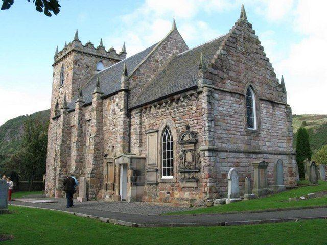 Duddingston Kirk A small 12th Century church on the