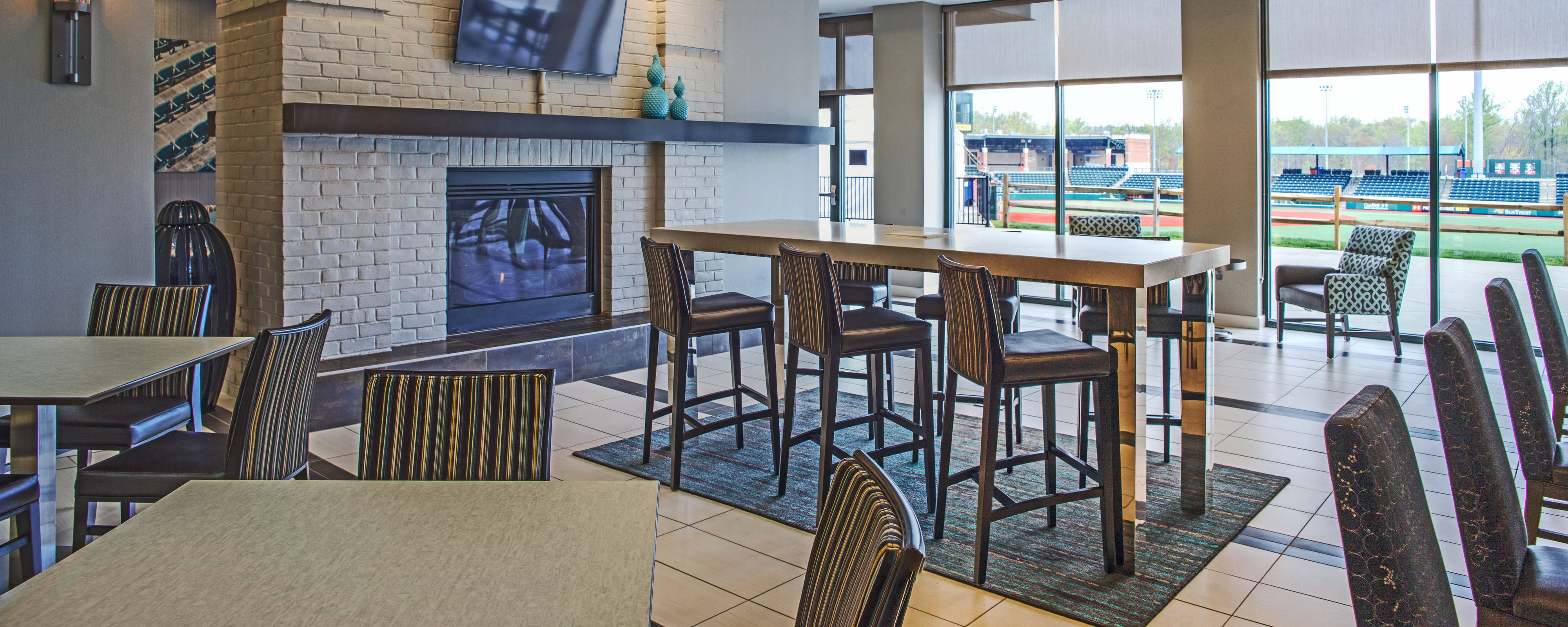 Reserve an extended stay at our hotel near Ripken Stadium