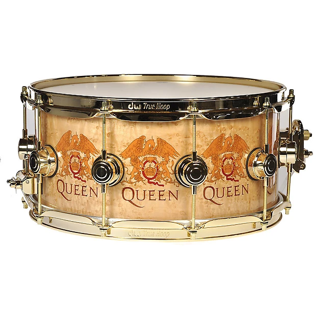 Dw 6 5x14 Queen Icon Series Roger Taylor Signature Snare Drum Chicago Music Exchange Reverb Drums Snare Drum Snare