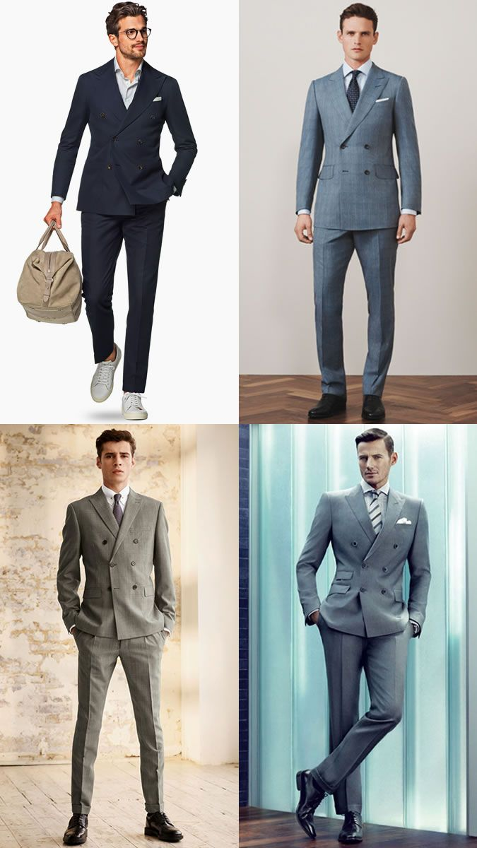The Men Suit For Spring Summer The Double Breasted Suit Lookbook