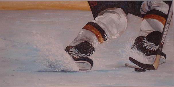 Hockey Paintings Hockey Sports Painting Creative Painting