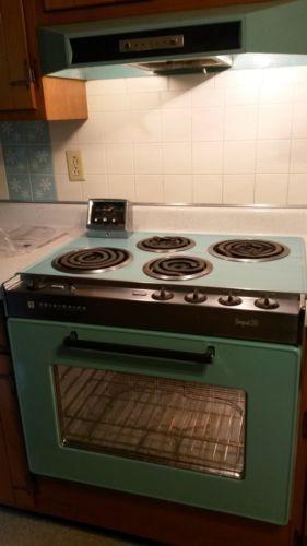 Details About Vintage 1960s Turquoise Blue Frigidaire