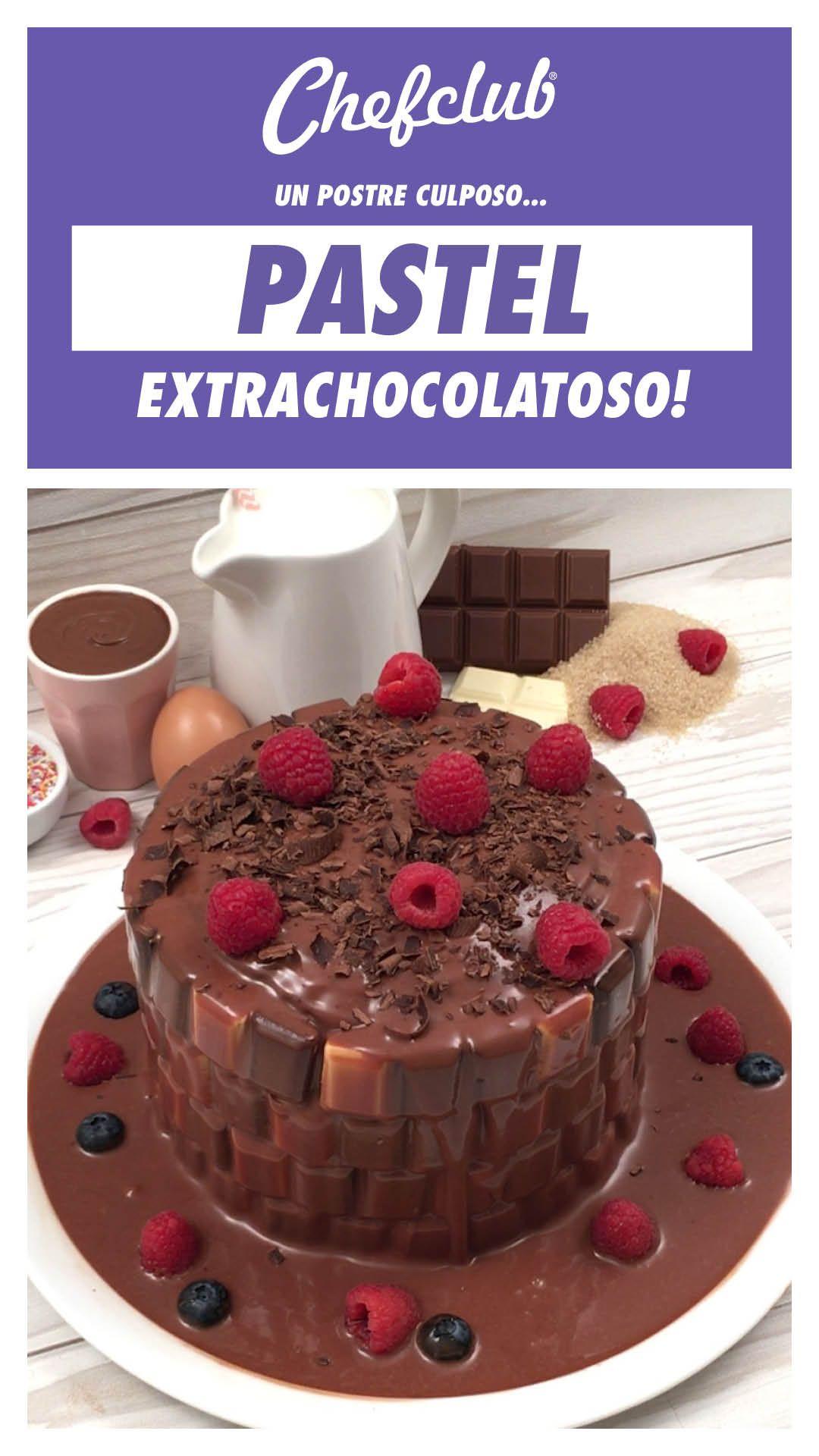 Receta Pozo Chocolatoso Y Otras Recetas Chefclub Original Receta Postre Comida Recetas